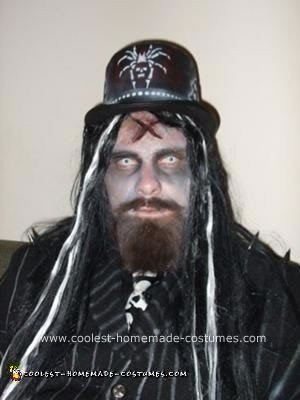 Homemade Rob Zombie Costume