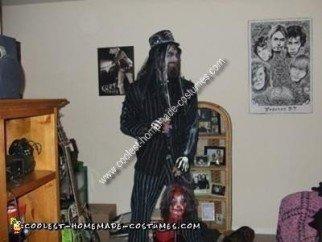 Homemade Rob Zombie Costume