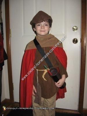 Homemade Robin Hood Halloween Costume