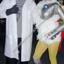 Homemade Robot Chicken Halloween Costume Idea