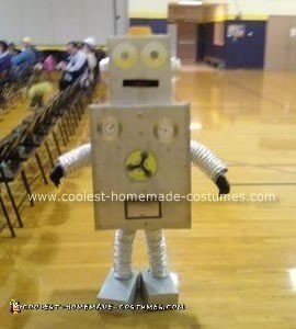 Homemade Robot Costume