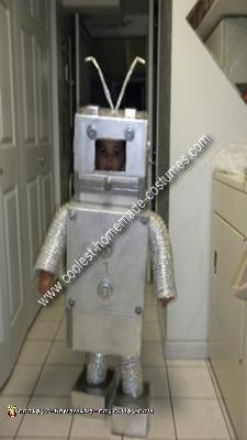 Homemade Robot Costume