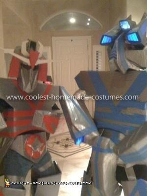 Homemade Robot Costumes