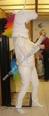 Homemade Robot Unicorn Attack Halloween Costume