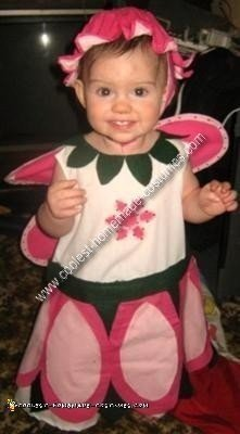 Homemade Rose Petal Fairy Costume