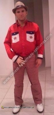 Homemade Roy Munson from Kingpin Adult Halloween Costume
