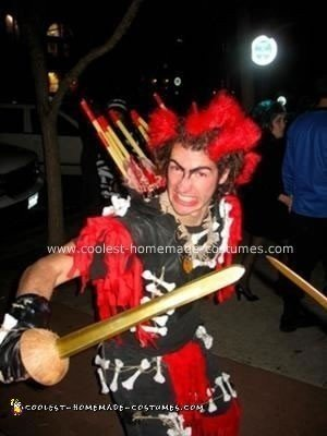 Homemade Rufio from Hook Costume