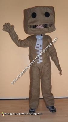 Homemade Sackboy from Little Big Planet Halloween Costume