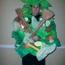 Homemade Salad Bowl Original Halloween Costume