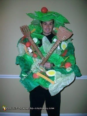 Homemade Salad Bowl Original Halloween Costume