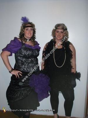 Homemade Saloon Girl Costume