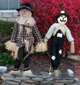 Homemade Scarecrow from Wizard of Oz Costume