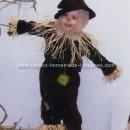 Homemade Scarecrow Halloween Costume