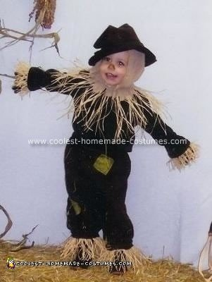 Homemade Scarecrow Halloween Costume