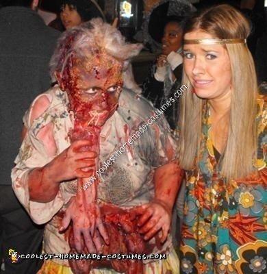 Homemade Scarry Zombie Hag Halloween Costume