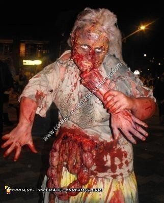 Homemade Scarry Zombie Hag Halloween Costume
