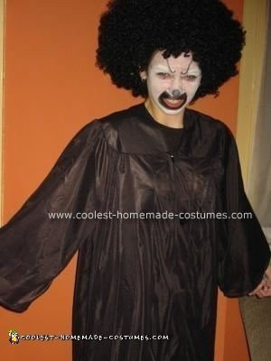 Homemade Scary Clown Halloween Costume