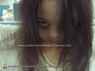 Homemade Scary Ghost from The Grudge Costume