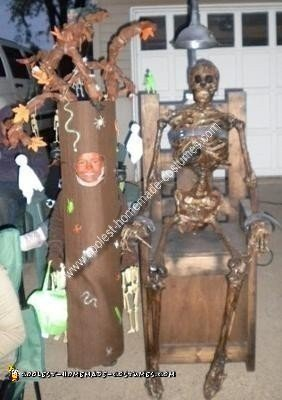 Homemade Scary Tree Costume