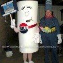 Homemade Schoolhouse Rock Couple Costume
