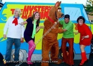 Homemade Scooby Doo Gang Costume Ideas