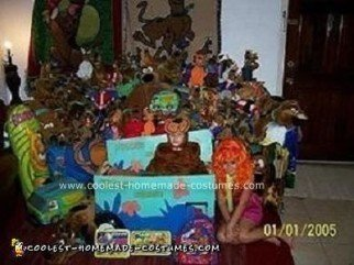 Homemade Scooby Doo Halloween Costume