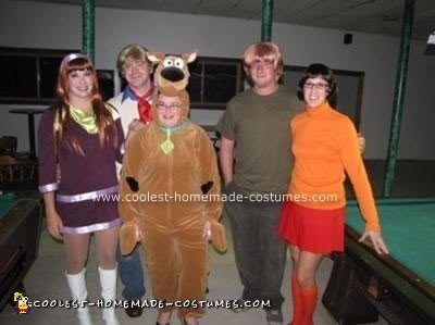 Homemade Scooby Gang Costumes