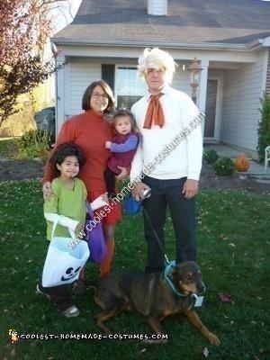 Homemade Scooby Gang Halloween Costume
