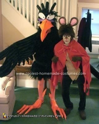 Homemade Secret of NIMH Costumes