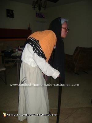 Homemade Senior Citizen Halloween Costume