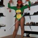 Homemade Sexy Ninja Turtle Costume