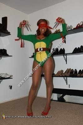Homemade Sexy Ninja Turtle Costume