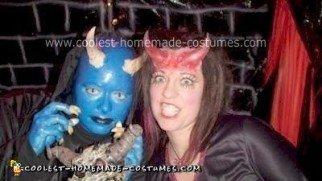 Homemade She Devil Costume