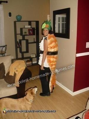 Homemade Shrimp Nigiri Sushi Roll Creative Halloween Costume
