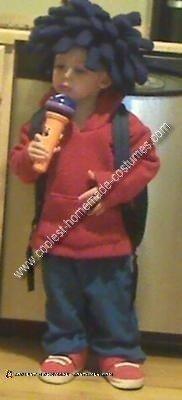 Homemade Sid the Science Kid Costume