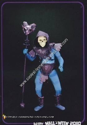 Homemade Skeletor Halloween Costume