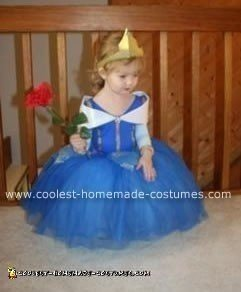Homemade Sleeping Beauty Costume