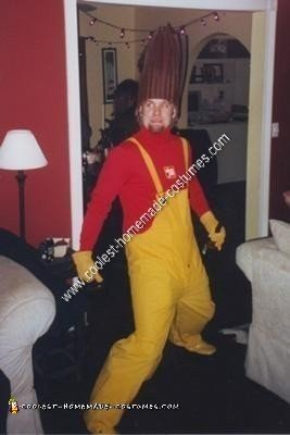 Homemade Slim Jim Costume