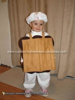 Homemade S'mores Halloween Costume