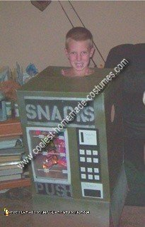 Homemade Snack Machine Costume