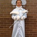 Homemade Snegurochka Russian Snow Maiden Costume