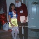 Homemade Snow White and Doc the Dwarf Couple Costume