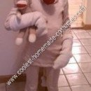 Homemade Sock Monkey Halloween Costume