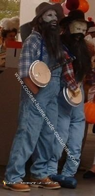 Homemade Soggy Bottom Boys Costume