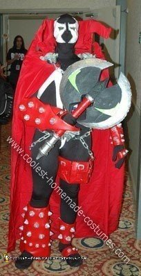 Homemade Soul Calibur Spawn  with Cape Costume