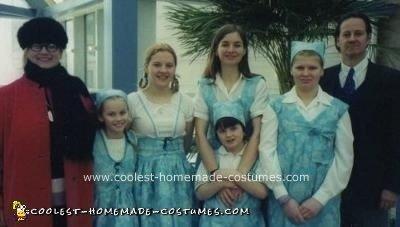 Homemade Sound of Music Family Costume