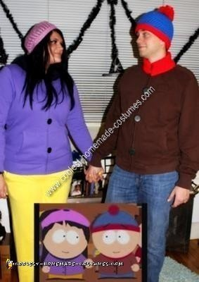 Homemade South Park Couple Costume
