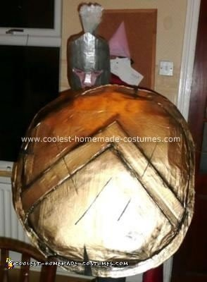 Homemade Spartan Costume