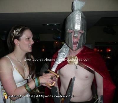 Homemade Spartan Costume