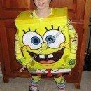 Homemade Spongebob Halloween Costume Idea